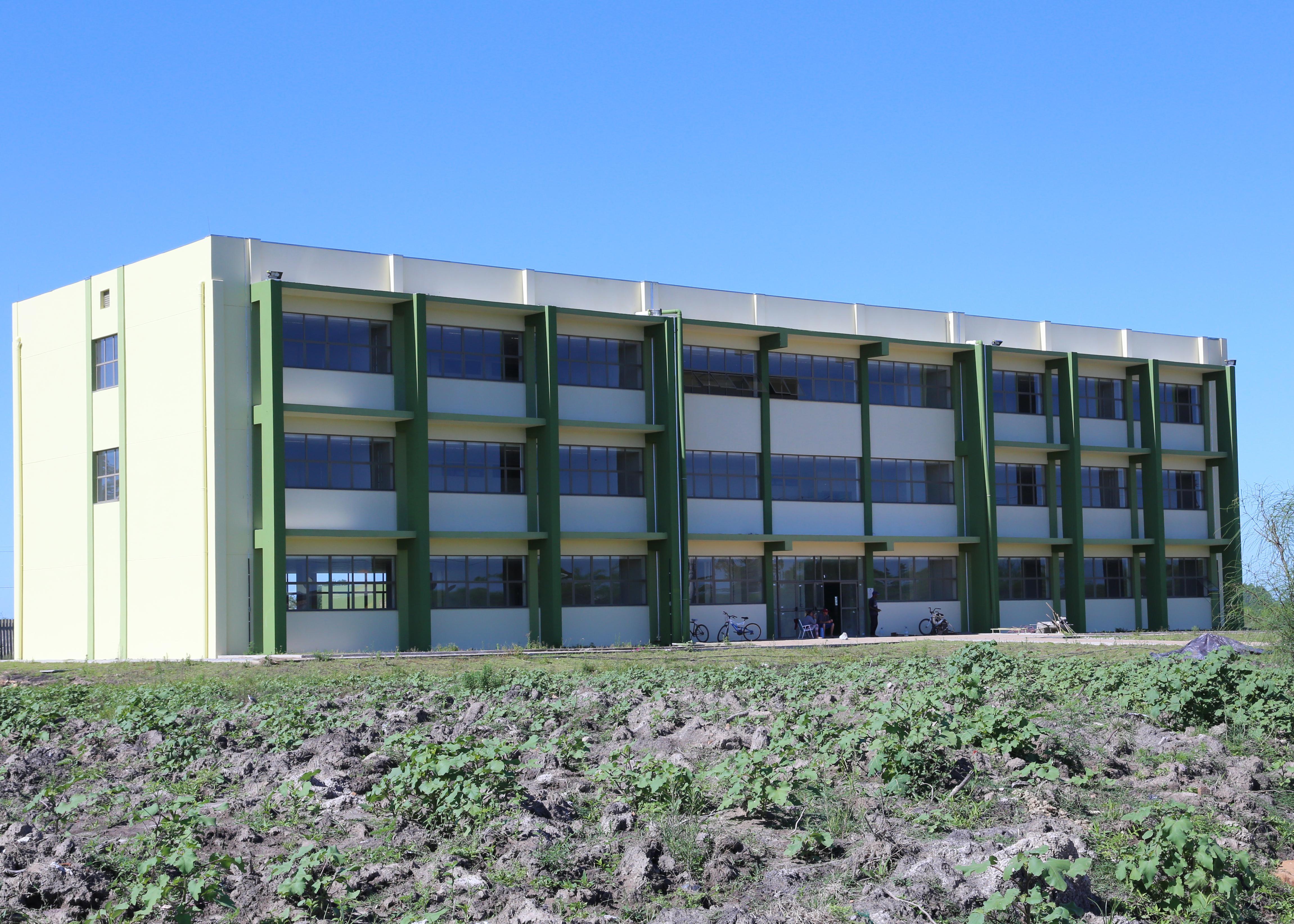 Novo prédio acadêmico do Campus Dom Pedrito - Foto: Manoel Abreu