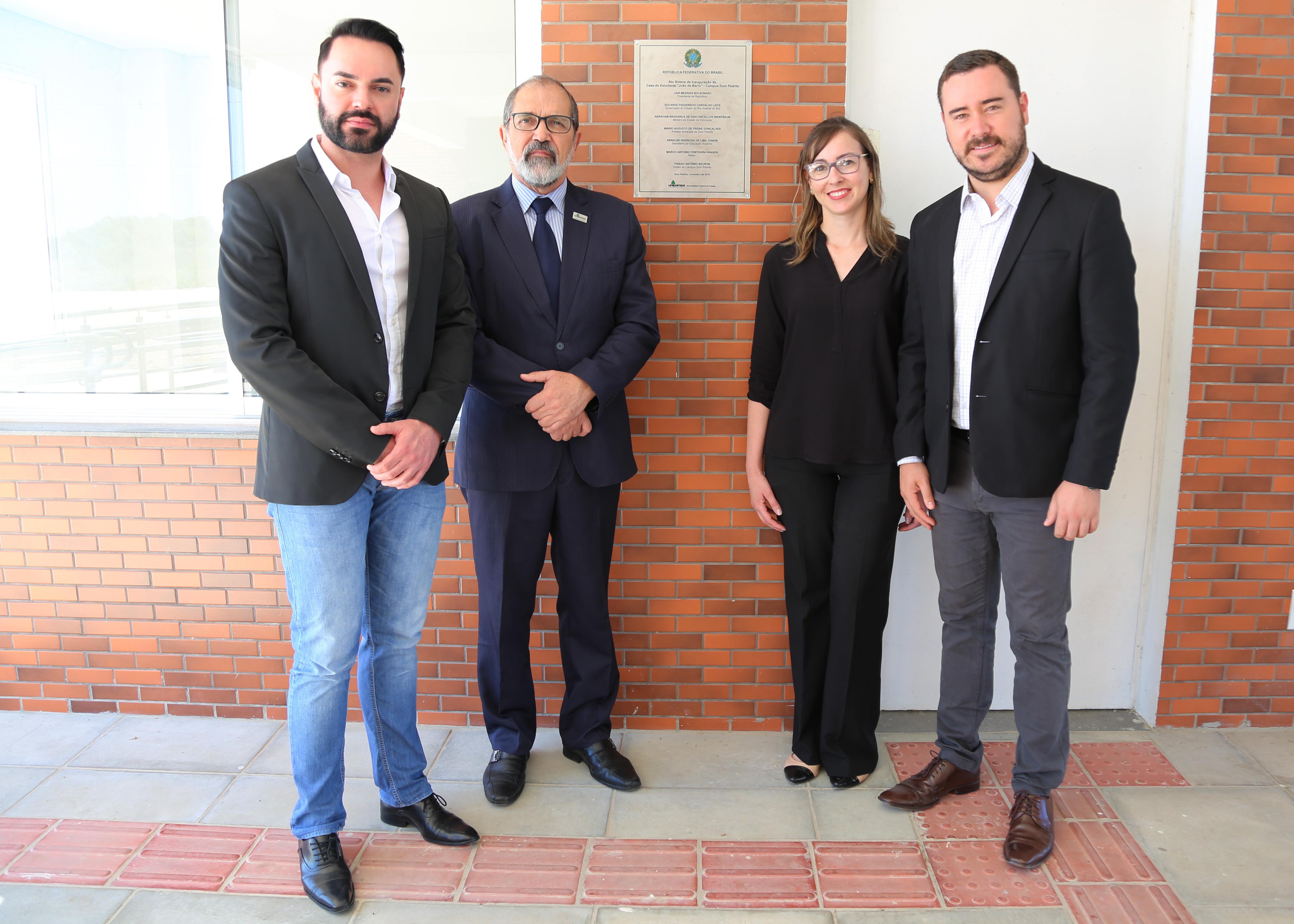 Moradia Estudantil é inaugurada em Dom Pedrito - Foto: Manoel Abreu