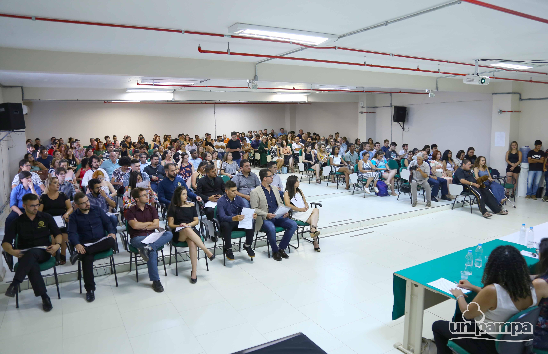 Solenidade interna de colação de grau do Campus Bagé - Foto: Ronaldo Estevam