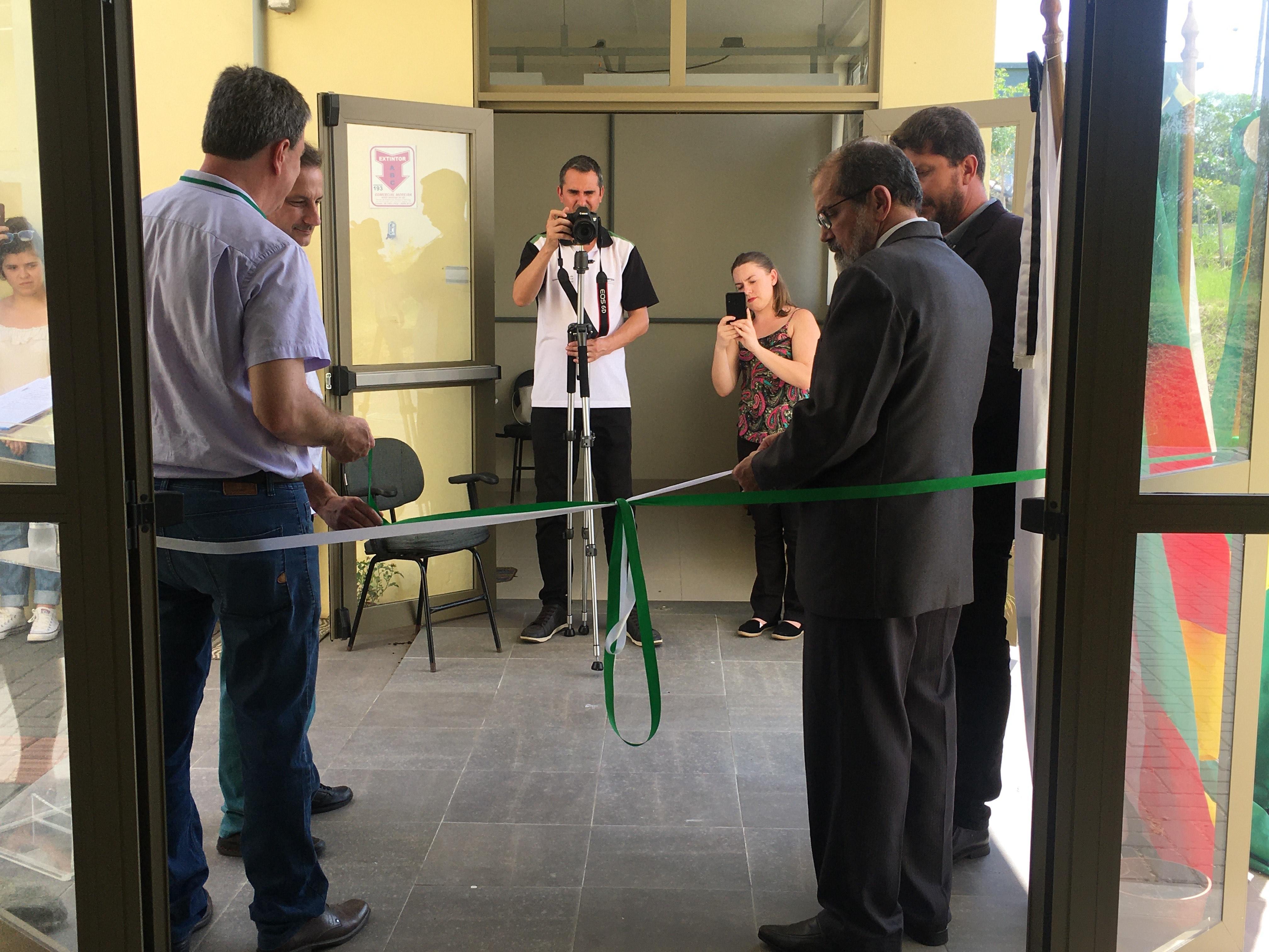 Núcleo de Estudos da Vegetação Antártica foi inaugurado no Campus São Gabriel. Fotos: Tamíris Centeno
