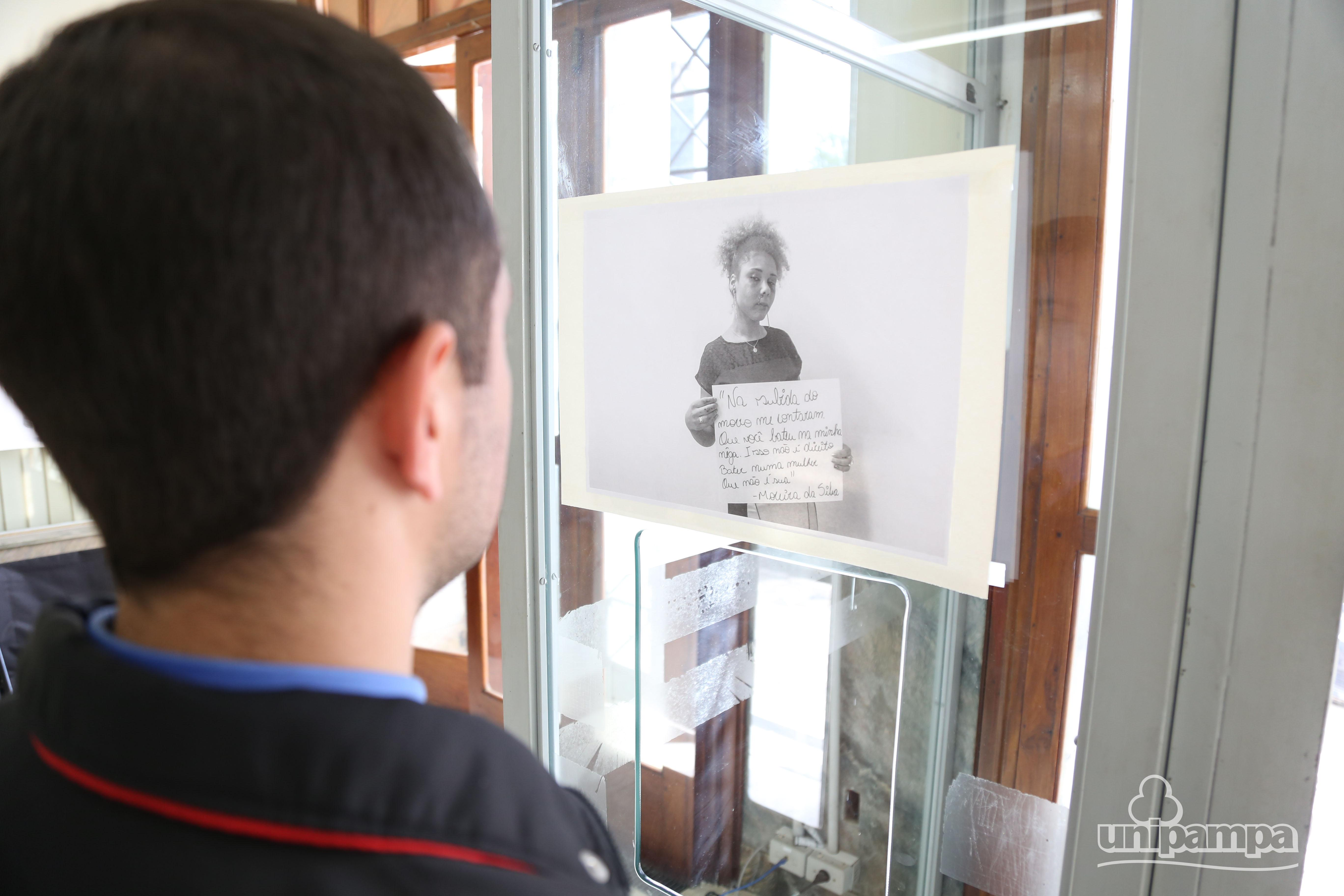 A exposição fica aberta até o dia 7. Foto: Ronaldo Estevan