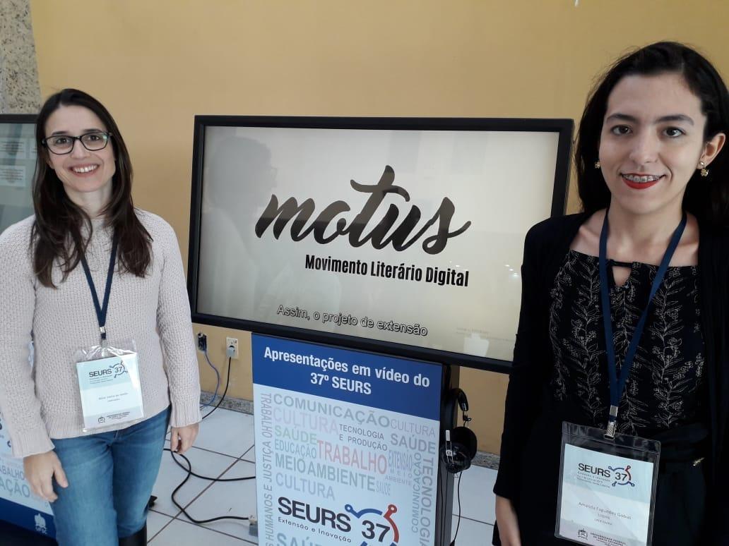 O projeto Motus #2: espalhando amor através da literatura recebeu destaque de melhor vídeo na área Cultura. Fotos: Divulgação