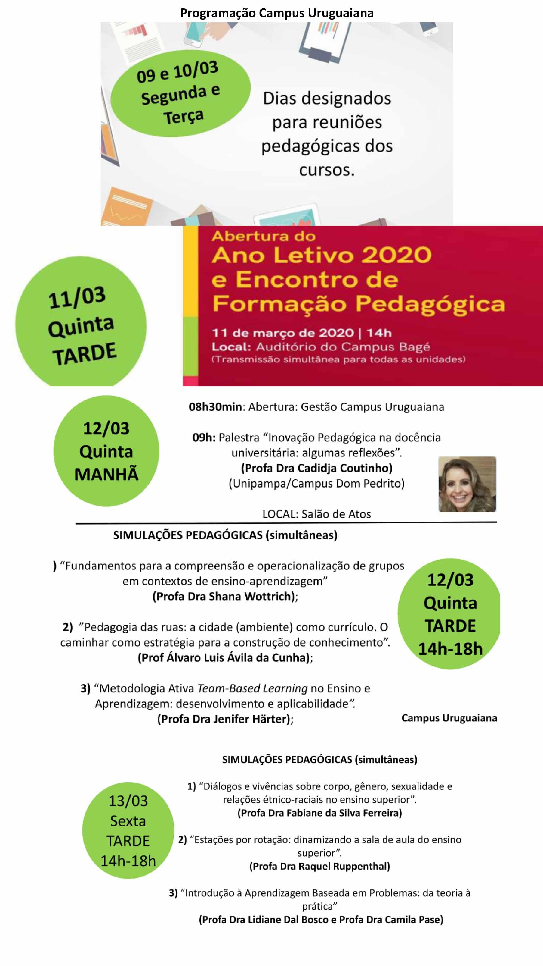 Semana Pedagógica de Uruguaiana