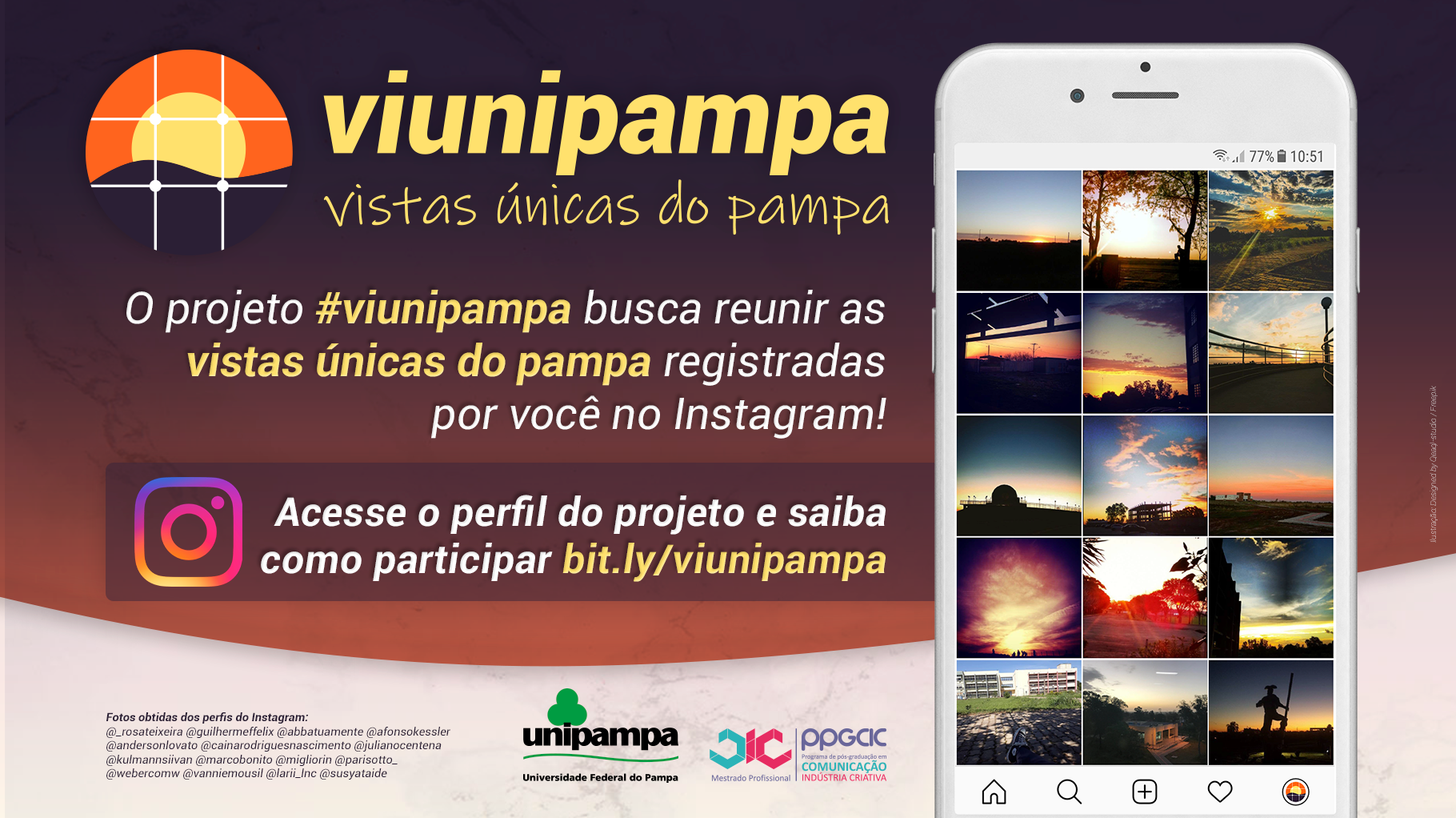 Projeto #viunipampa