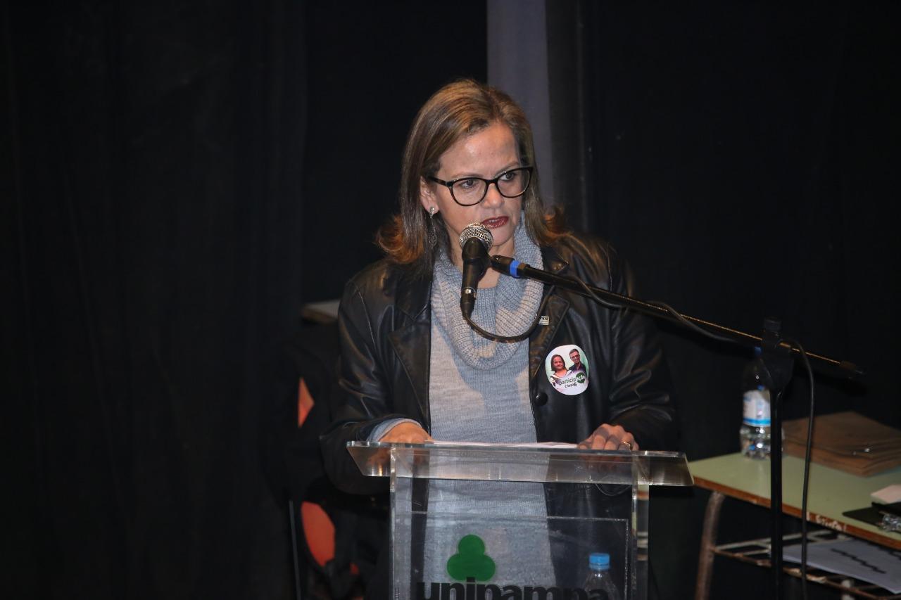 Candidata Ana Cristina da Silva Rodrigues, da Chapa Participação - Foto: Milene Marchezan
