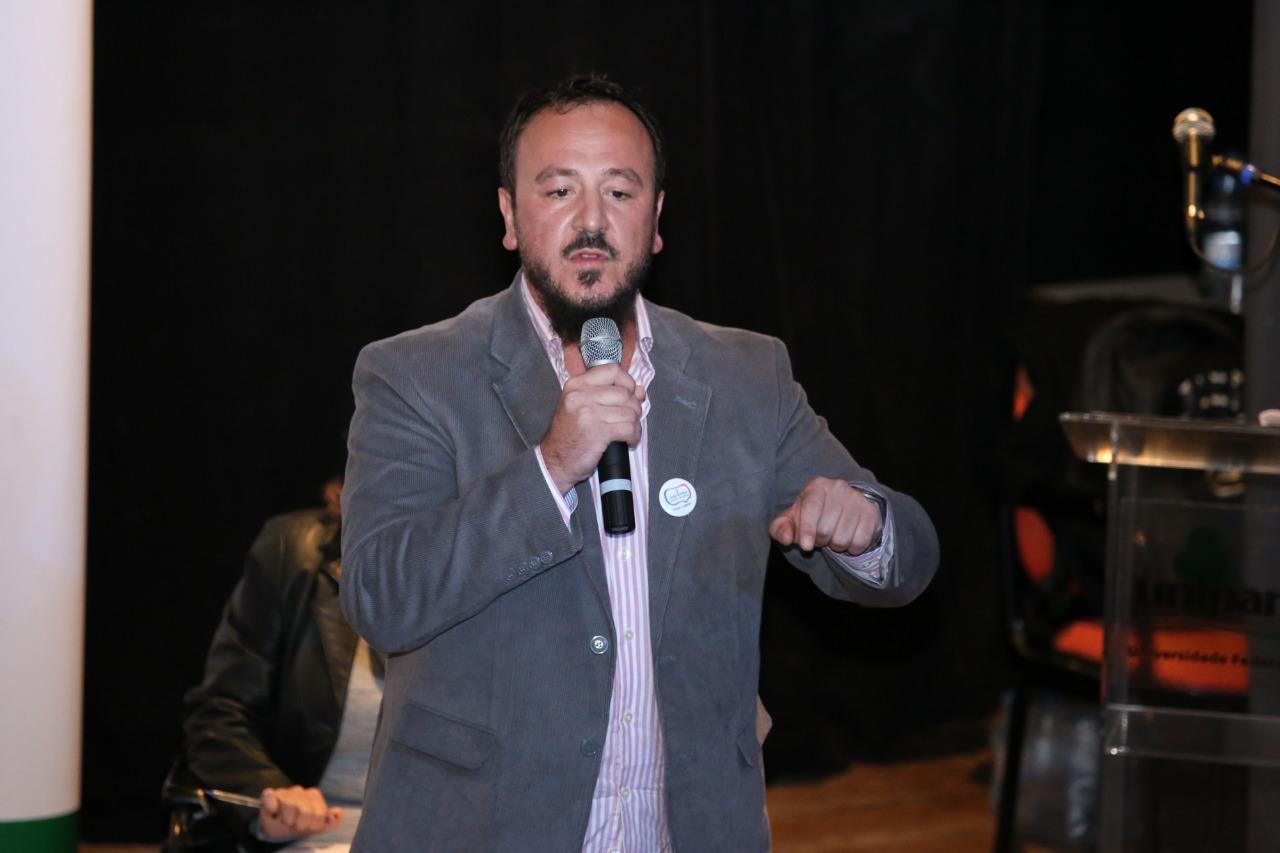 Candidato José Waldomiro Jiménez Rojas, da chapa Unipampa: Forte e Plural - Foto: Milene Marchezan