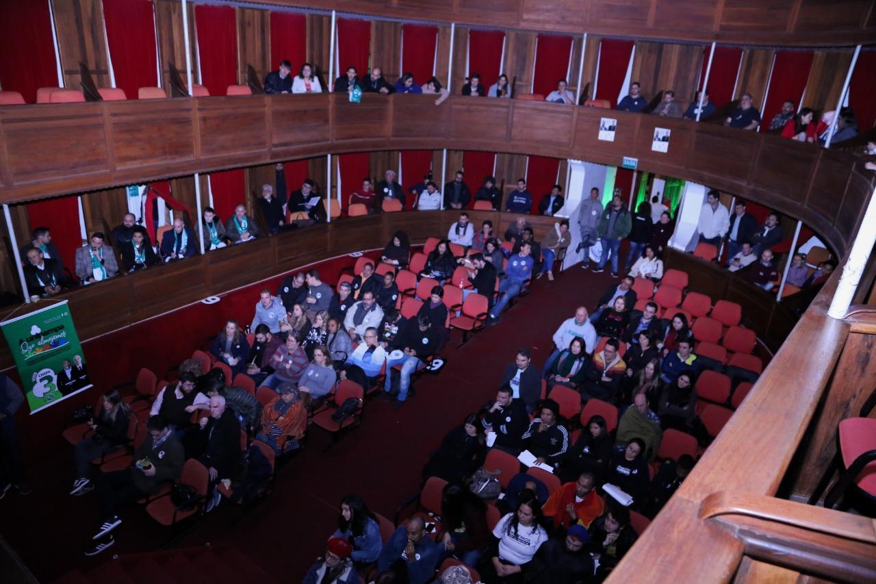 Comunidade prestigiou primeiro debate, em Itaqui - Foto: Milene Marchezan