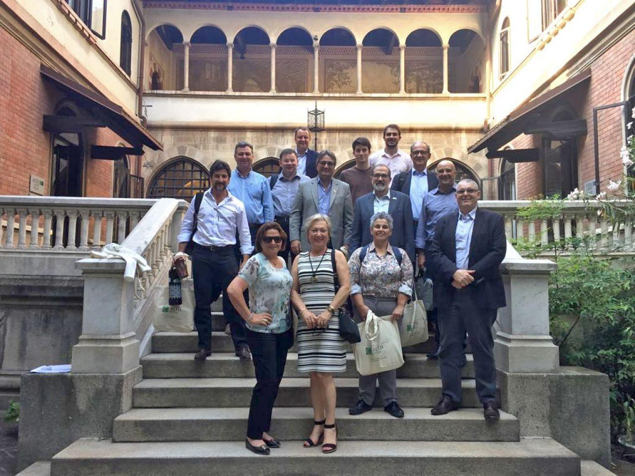 Grupo da Fronteira Sul é recepcionado na Universidade Católica Sagrado Coração (Milão)