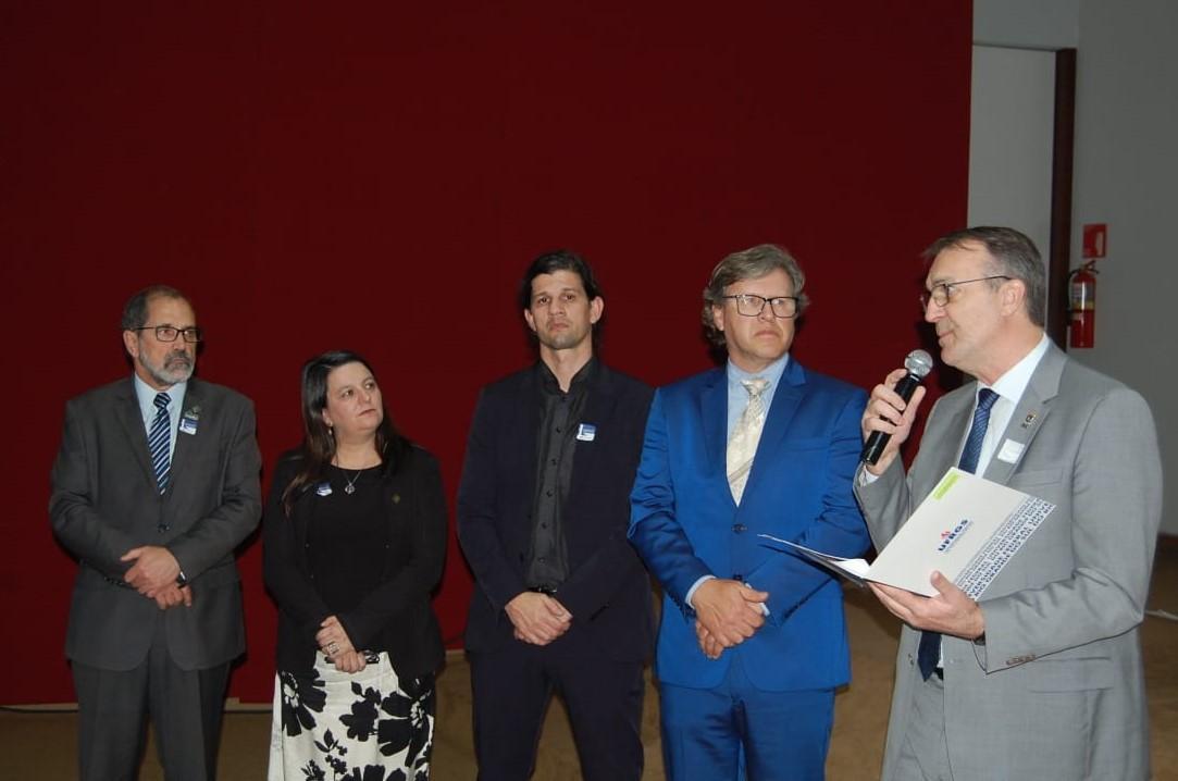 Reitores e vice-reitores das universidades federais gaúchas