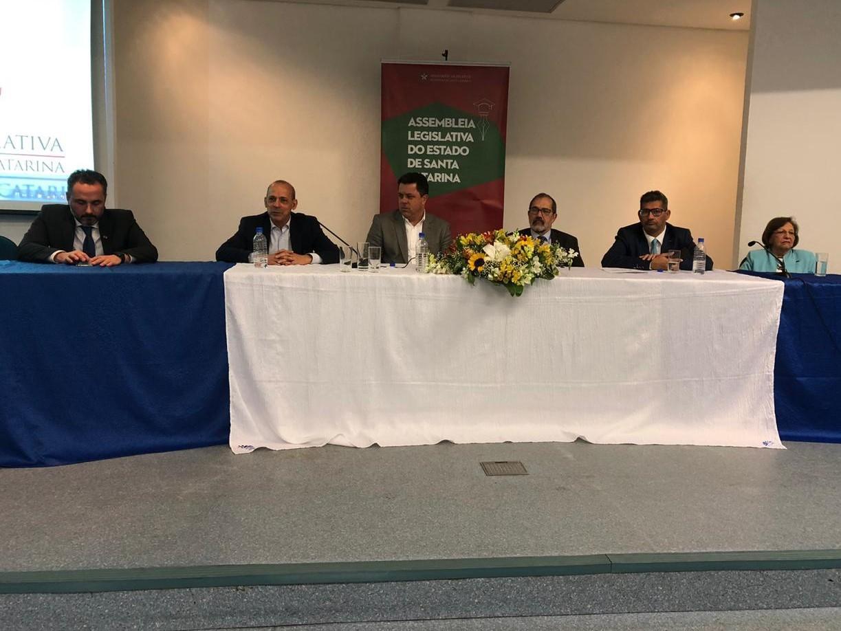 Mercosul e União Europeia foram os temas tratados durante a palestra. Fotos: Divulgação