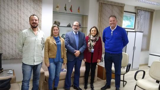 Unipampa e Serviço Geológico do Brasil buscam cooperação