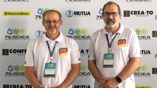 Os representantes da Unipampa estiveram em Palmas para debater Engenharia e Agronomia. Foto: divulgação