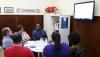 Participaram da reunião, além do reitor, a chefe de Gabinete Magda Luiza Torres Barreto, o coordenador da CAF Sebastião Cerqueir