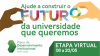 Ajude a construir o futura da universidade que queremos: Etapa Virtual do PDI de 8 a 20 de maio.