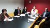 Na Comissão de Ciência, Tecnologia, Inovação e Empreendedorismo, o reitor Marco Hansen participou da reunião que tratou sobre a