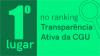 Unipampa ocupa 1º lugar no ranking Transparência Ativa da CGU
