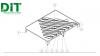 Projeto esquemático do diagrama tátil