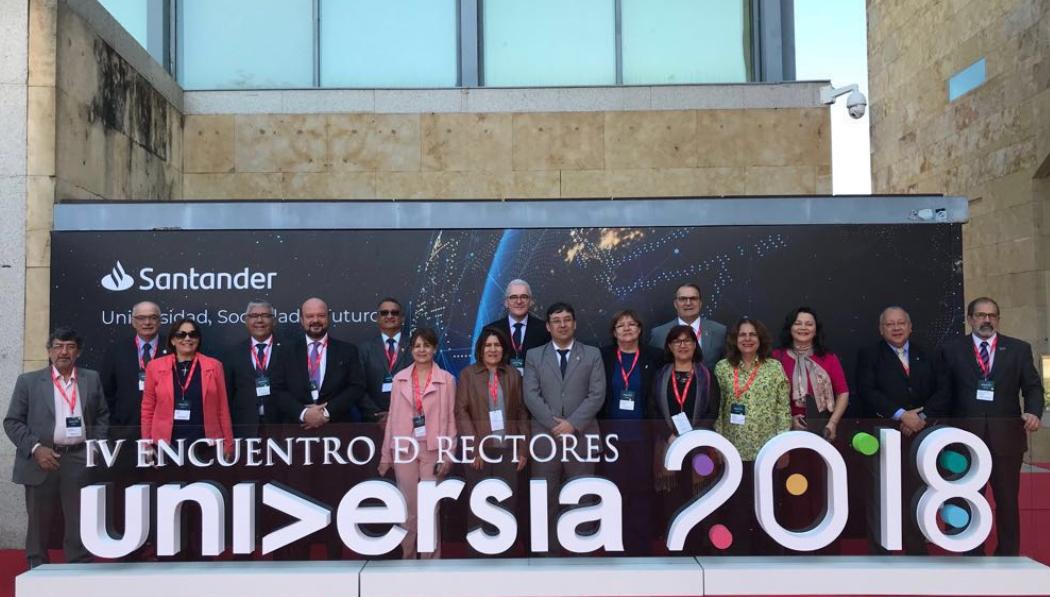 As IFES brasileiras foram representadas pelo presidente da Andifes, reitor Emmanuel Tourinho (UFPA), pelo reitor Marco Hansen (U