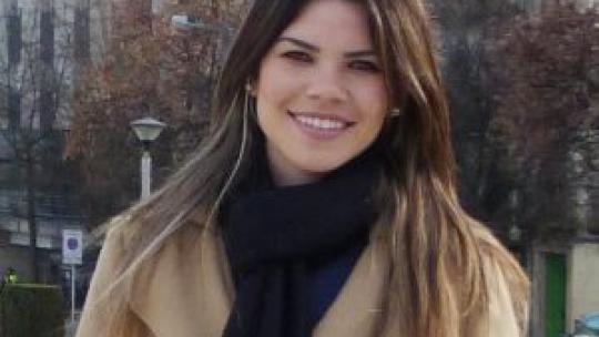 A professora Aneline Santos faz parte do corpo docente do campus São Borja