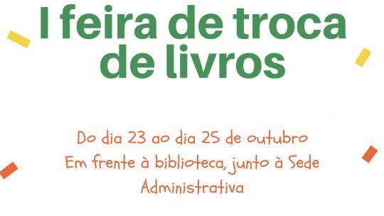 I Feira de Troca de Livros - Campus São Gabriel